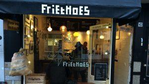 Glutenvrije patat bij Friethoes in Haarlem