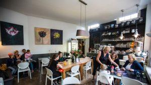 Glutenvrije taart bij Hofje zonder Zorgen in Haarlem